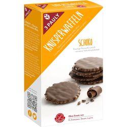 Minigofre fara gluten imbracate in ciocolata x 100g 3Pauly