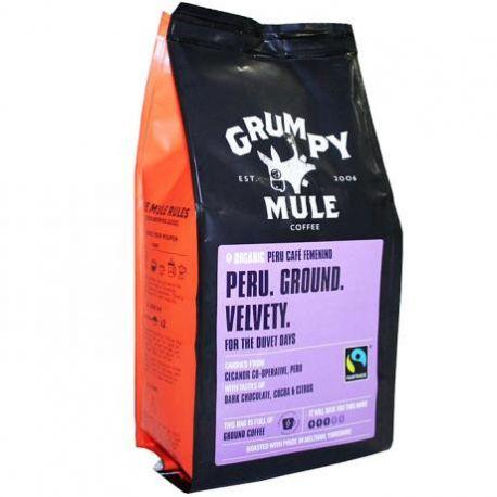 Cafea macinata Peru Femenino ECO x 227g Grumpy Mule