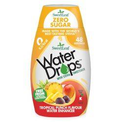 Water Drops cu Punch Tropical x 48ml Sweetleaf