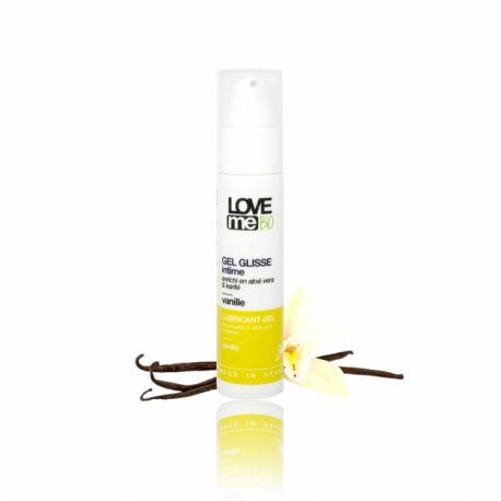 Gel lubrifiant intim cu aroma de vanilie x 50ml Love Me Bio