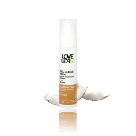 Gel lubrifiant intim cu aroma de cocos x 50ml Love Me Bio