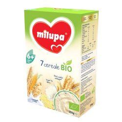 Cereale bio fara lapte cu 7 Cereale x 250g Milupa