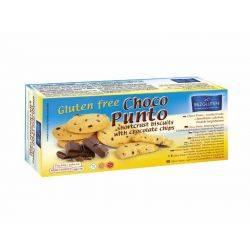Biscuiti fara gluten cu pepite de ciocolata Choco Puntox 130g Bezgluten