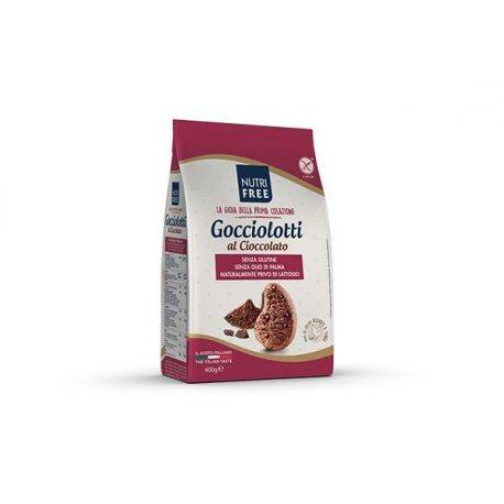 Gocciolotti Biscuiti cu ciocolata x 400g Nutrifree
