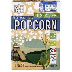 Popcorn sarat fara gluten pentru microunde x 90g YumKah