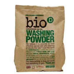 Detergent rufe pudra, hipoalergic, vegan x 1kg Bio-D