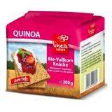 Paine crocanta din secara integrala cu quinoa ECO x 200g Linea Natura