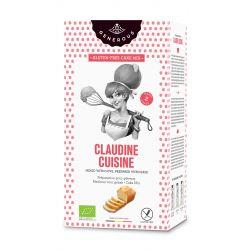 Amestec eco de faina pentru prajituri fara gluten Claudine Cuisine x 500g Generous