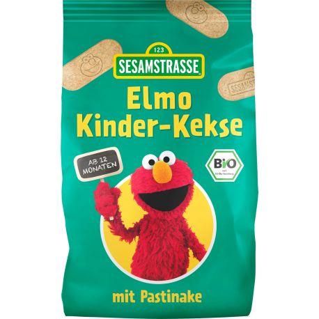 Biscuiti ECO Elmo pentru copii cu pastarnac x 125 g Sesame Street