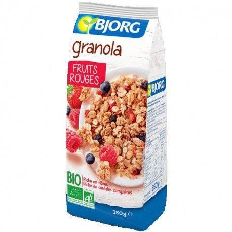 Granola ECO cu fructe rosii x 350g BJORG