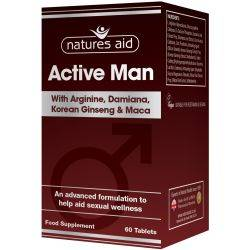 Active Man x 60cp Natures Aid