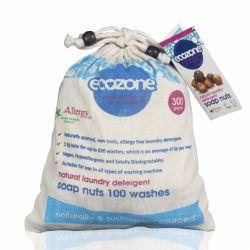 Nuci de sapun bio, 100 de spalari x 300g Ecozone