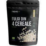 Fulgi din 4 cereale BIO x 350g Niavis