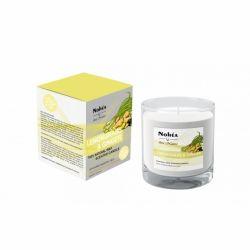 Lumanare parfumata din soia, Lemongrass & Ginger x 220g Nohea