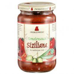 Sos de rosii sicilian ECO fara gluten x 350g Zwergenwiese