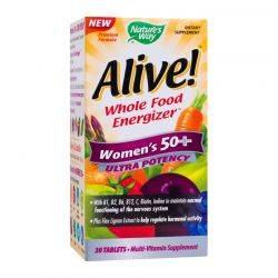 Alive! Once Daily Women 50+ Ultra x 30tb Natures Way