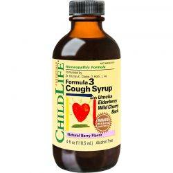 Cough Syrup x 118.50ml (gust de fructe) ChildLife Essentials