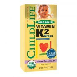 Vitamin K2 (copii) 15 mcg x 12ml ChildLife Essentials