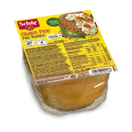 Paine feliata cu cereale fara gluten Pan Rustico x 250g Dr. Schar