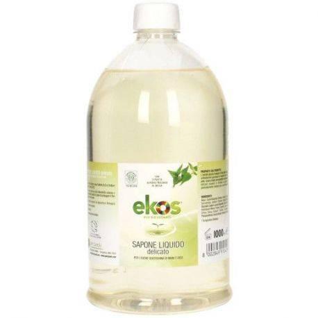 Rezerva sapun lichid delicat pentru maini si fata ECO x 1000ml Ekos