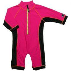 Costum de baie pink black marime 74-80 protectie UV-Swimpy