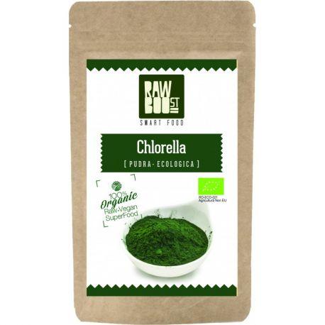Chlorella pudra ECO x 125g Rawboost Smart Food