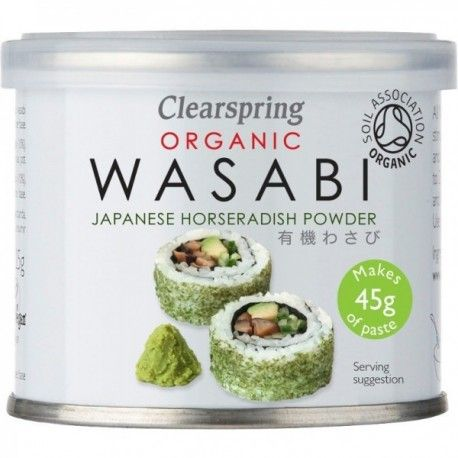 Pudra Wasabi Eco x 25g Clearspring