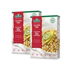 Oferta 1+1 Cercuri multicereale pentru mic dejun cu quinoa x 300g Orgran
