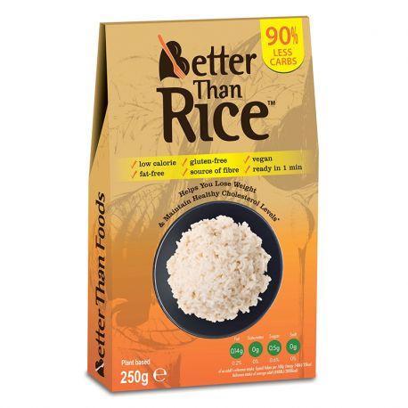 Orez din konjac fara clatire fara gluten x 250g Better than Foods