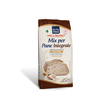 Mix pentru paine integrala fara gluten x 1000g Nutrifree