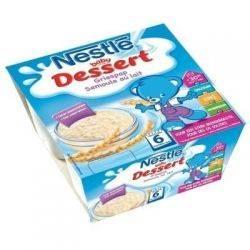Nestle Baby Dessert Semoule au lait x 4*100g