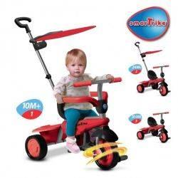 Tricicleta Smart Trike Carnival Red