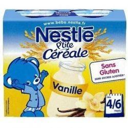 Nestle P'tite cereale cu lapte si vanilie x 250ml