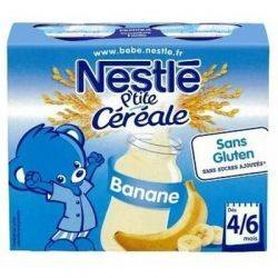 Nestle P'tite cereale cu lapte si banana x 250ml