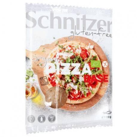 Blat de pizza fara gluten ECO 1 buc x 100g Schnitzer
