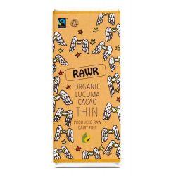 Ciocolata subtire organica cu lucuma si cacao fara gluten x 30g Rawr
