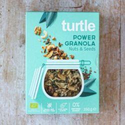 Power Granola cu nuci si seminte fara gluten 350g Turtle