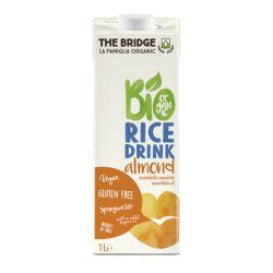 Bautura de orez cu migdale fara gluten ECO x 1000ml The Bridge