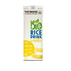Bautura vegetala din orez cu vanilie fara gluten x 1L The Bridge
