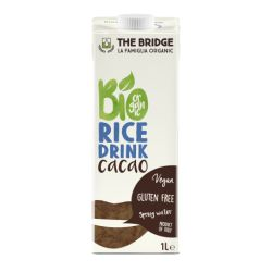 Bautura vegetala din orez cu cacao fara gluten x 1L The Bridge