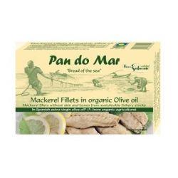 Macrou file in ulei de masline x 120g Pan Do Mar