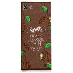 Ciocolata subtire organica clasica fara gluten x 30g Rawr