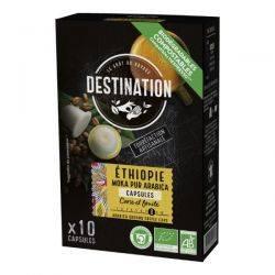 Cafea eco capsule Moka Pur Arabica Etiopia x 55g Destination