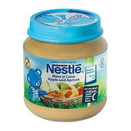 Nestle piure mere si caise x 130g