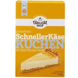 Premix fara gluten pentru cheesecake ECO x 485g Bauckhof