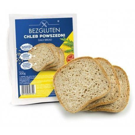 Paine cotidiana fara gluten x 300g Bezgluten