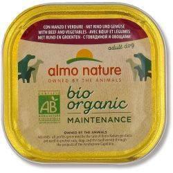 BioOrganic Maintenance Hrana umeda pentru caine adult cu vita si legume x 300g Almo Nature