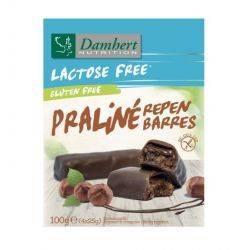 Batoane cu praline fara gluten, fara lactoza x 100g(4buc x 25g) Damhert