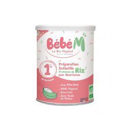 Formula 1 Lapte praf vegetal pentru bebelusi de la nastere x 800g Bebe Mandorle
