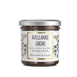 Crema organica de ciocolata si alune x 150g Chocolate Organiko
